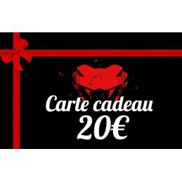 Carte cadeau 20 euros hygie meca