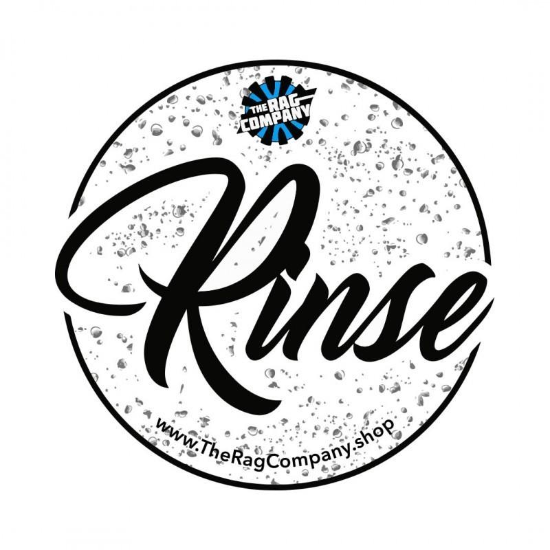 "Autocollant pour seau ""Rinse"" the rag company"