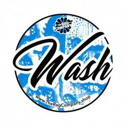 Autocollant pour seau Wash The rag company.