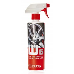 W6 Iron and General Fallout Remover 500ml Gtechniq