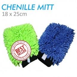 Knobby Microfiber Chenille mitt the rag company
