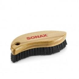 Brosse pour cuir et textile sonax