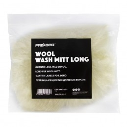 Wool Wash Mitt Long - fra ber