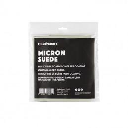 Micron suede 40x40cm fraber