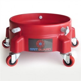Grit Guard Bucket Dolly - Rouge