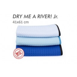 """Dry me a river Jr"" waffle weave towel 41x61cm the rag company"