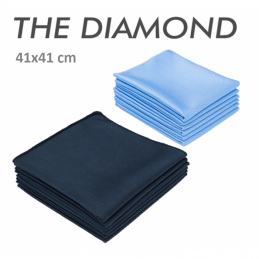 The Diamond microfiber glass towel 41x41cm the rag company